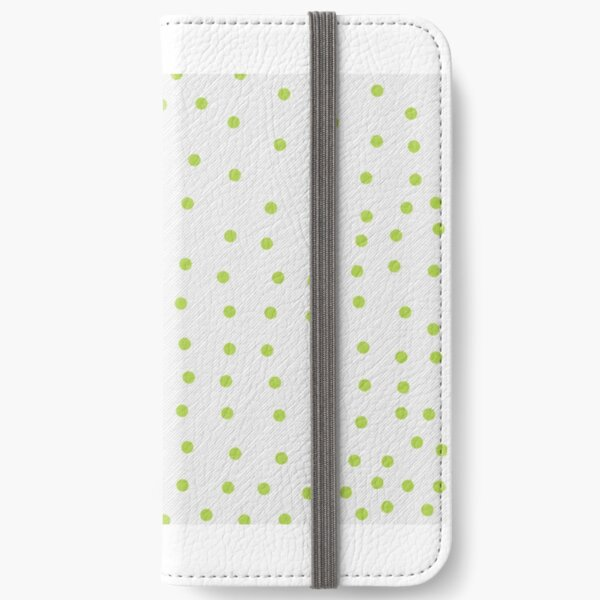 Hand dotted pattern iPhone Wallet