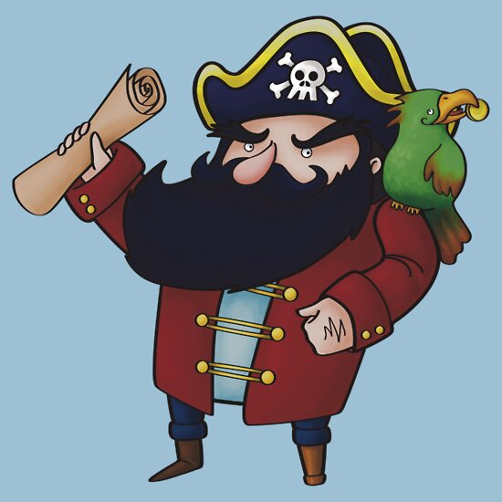 TShirtGifter presents: Pirate arrrrr!