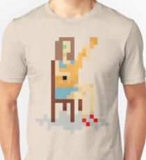 8-Bit Girl With Guitar. Unisex T-Shirt