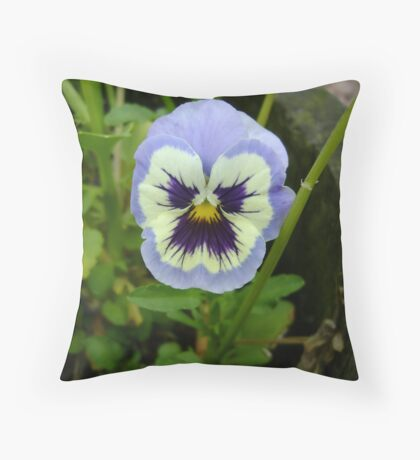 That's One Grumpy Flower! Throw Pillow