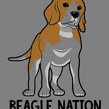 Dogs Beagle Nation Classic by trushirtdesigns