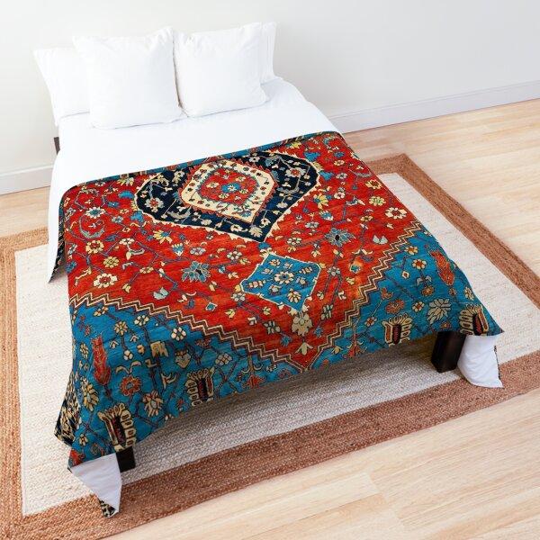 Antique Persian Carpet Print Comforter