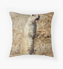 Richardson's ground squirrel Throw Pillow