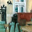 Mercantile Dining lounge, painting by jjuno