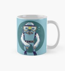 Scuba Sloth Classic Mug