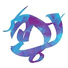 Watercolour Courage in Combat Rune by kbhend9715
