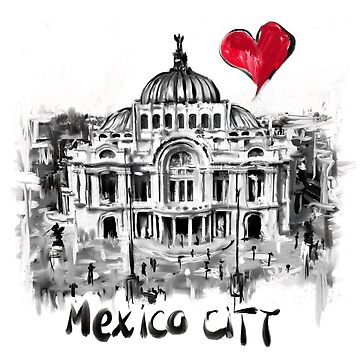 I love Mexico City by sladjana