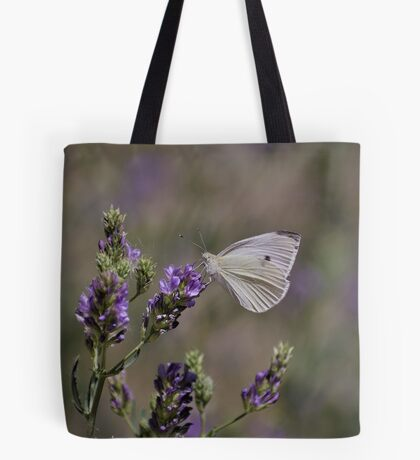 Cabbage White Butterfly I Tote Bag