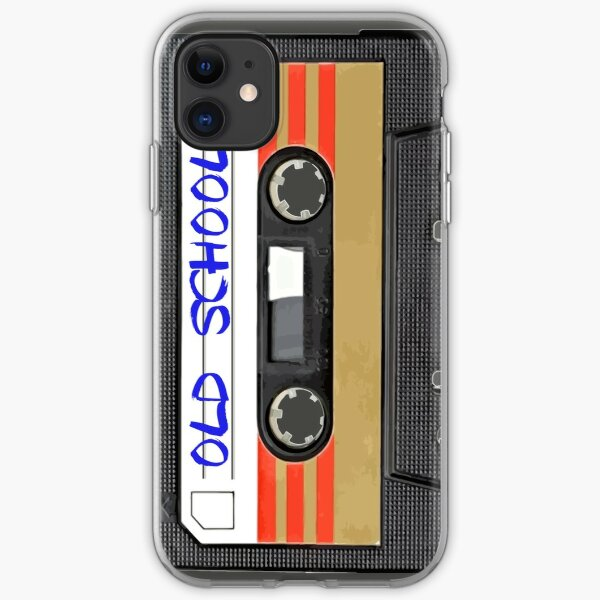 Old school music iPhone Soft Case