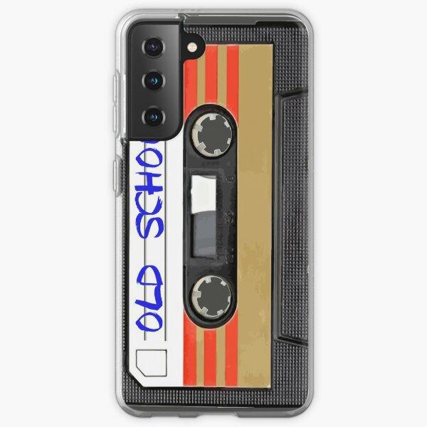 Old school music Samsung Galaxy Soft Case
