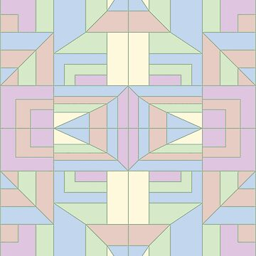 Another geometric pattern by Lenka24
