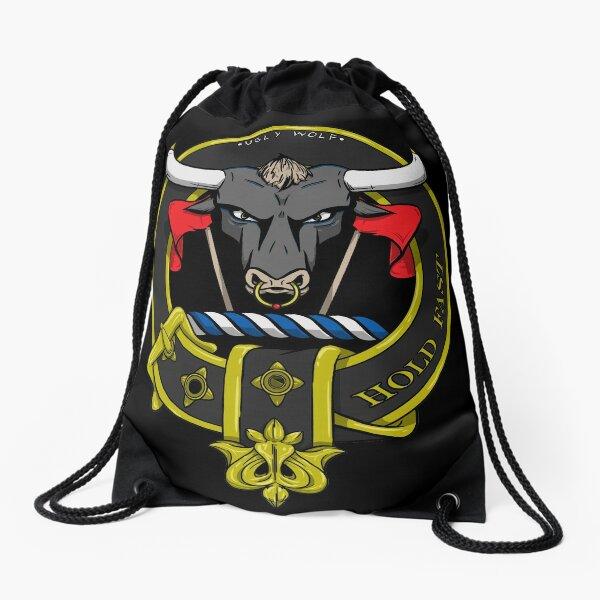 Hold Fast; McLeod Crest Drawstring Bag