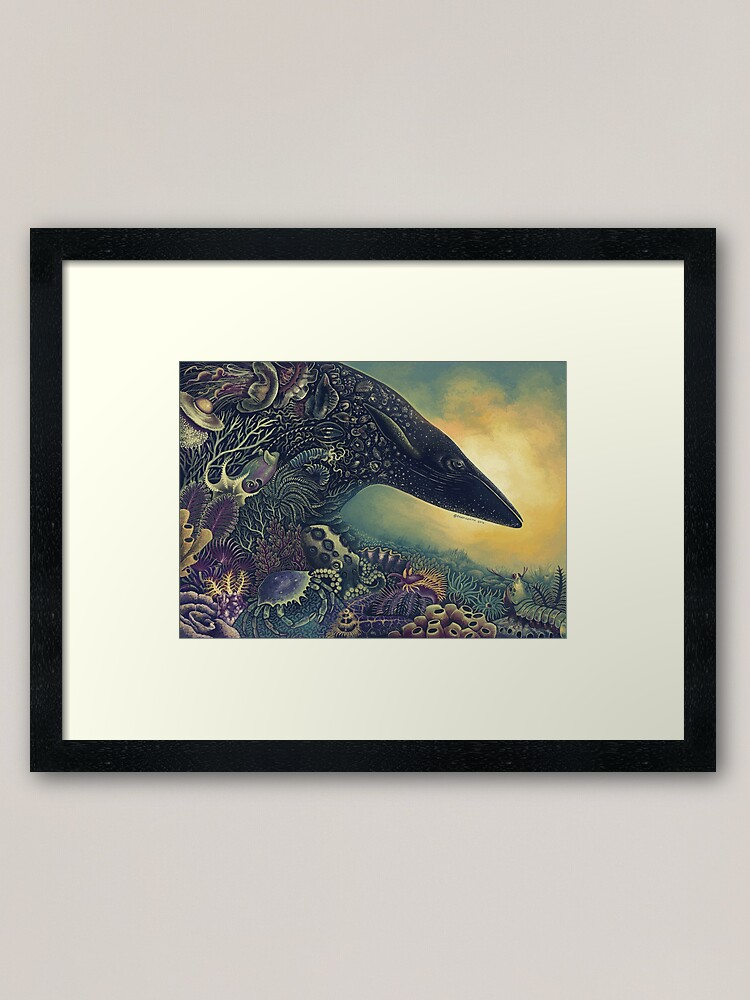 Alternate view of Masquerade Framed Art Print