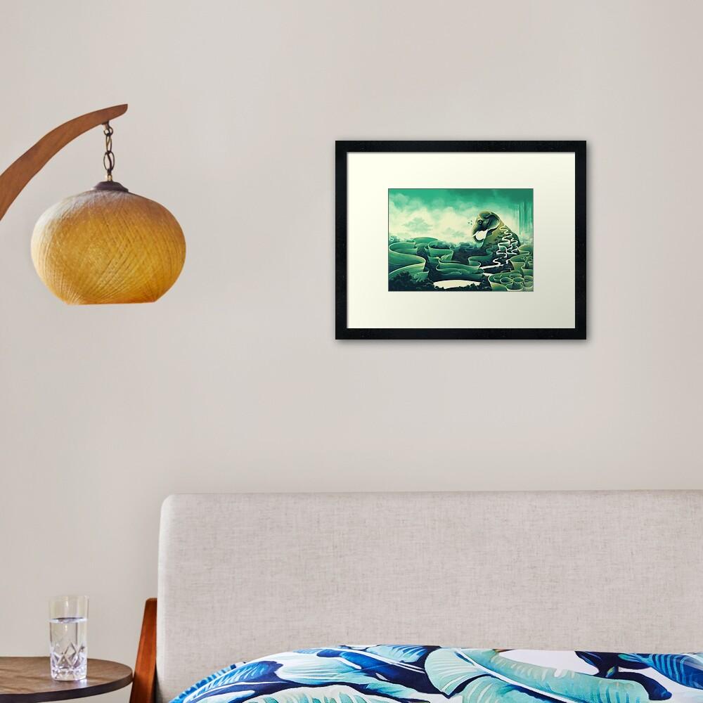 Iconolatry Framed Art Print