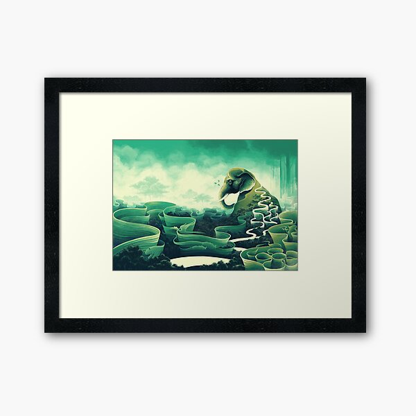 Iconolatry Framed Art Print