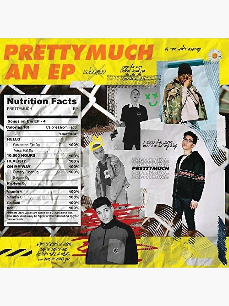 prettymuch ep cover by felishaokay