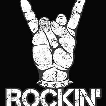 Rockin' Hand Horns: The Rock Music Rocker by friendlyspoon