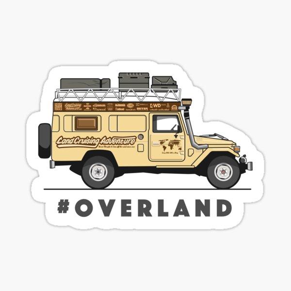 #OVERLAND Sticker