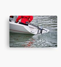 Hard A' Starboard Canvas Print