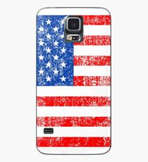 Patriotic American Flag Independence Day Artwork Case/Skin for Samsung Galaxy