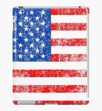 Patriotic American Flag Independence Day Artwork iPad Case/Skin