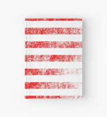 Patriotic American Flag Independence Day Artwork Hardcover Journal