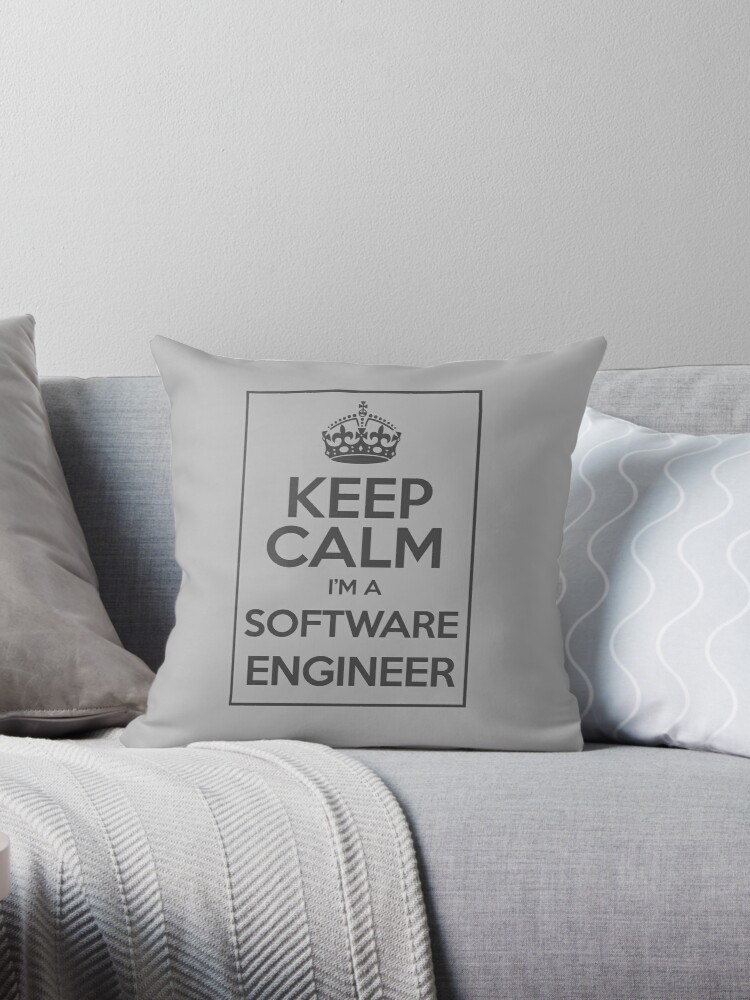 Keep Calm I'm a software Engineer by Caldofran