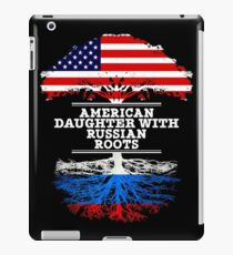 American Daughter With Russian Roots - Gift For Russian Daughters iPad Case/Skin