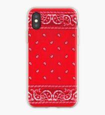 Red Bandana iPhone Case