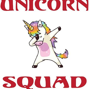 Unicorn Squad by Mill8ion