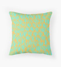 Not Exactly Leaves Throw Pillow