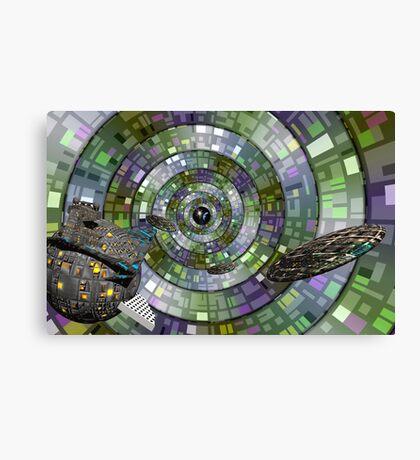 Space Time Conduit Canvas Print