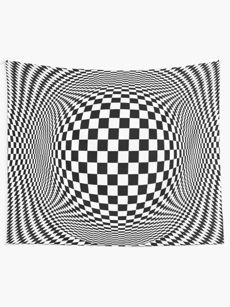 Alternate view of Optical Illusion, visual illusion, #OpticalIllusion, #visualillusion, #Optical, #Illusion, #visual Tapestry