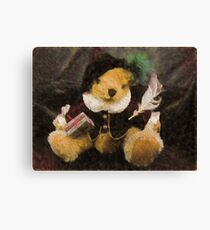 The Bard (Bear) Canvas Print