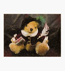 The Bard (Bear) Photographic Print