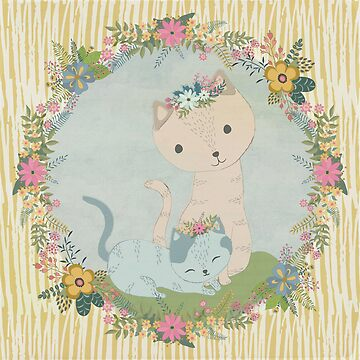 Scandanavian Kitties by sarapaschal