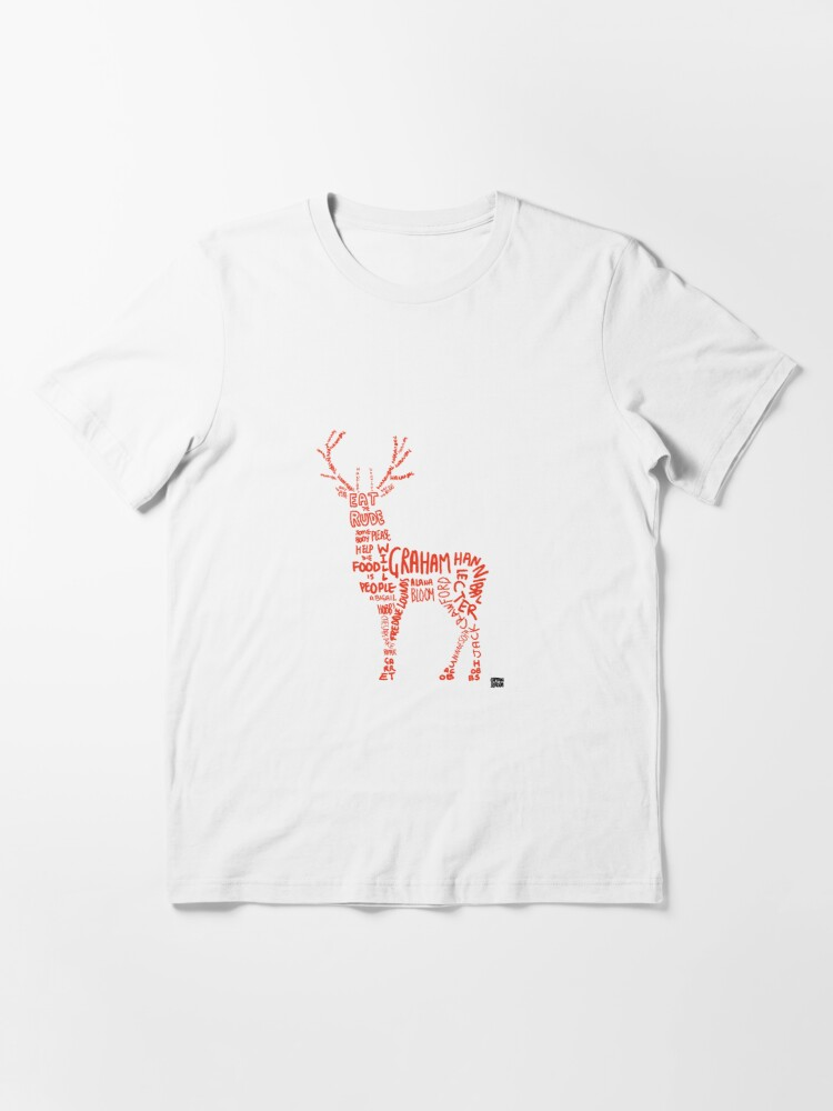 Alternate view of Hannibal- Stag Essential T-Shirt