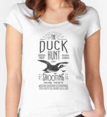 DUCK HUNT Women's Fitted Scoop T-Shirt