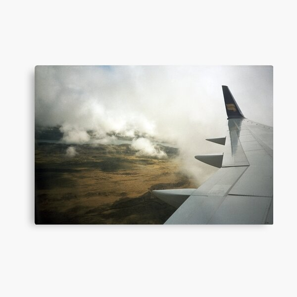 Lomo - Iceland from the sky Metal Print