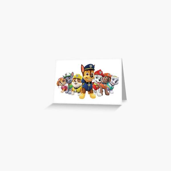 Paw patrol Greeting Card