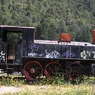 Abandoned Cargo Train by Bentrouvakis