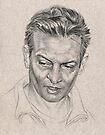 Rosewood - portrait study sketch by Chris Baker