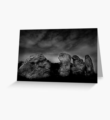West Kennet Long Barrow #3 Greeting Card