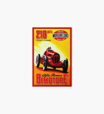 """BIMOTORE GRAND PRIX"" Vintage Auto Racing Print Galeriedruck"