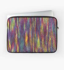 Rainbow Knitted Pattern Laptop Sleeve
