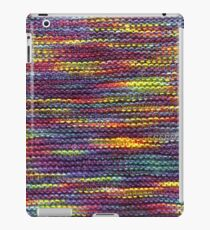 Rainbow Knitted Pattern iPad Case/Skin
