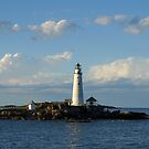 Boston Light by Lee d'Entremont