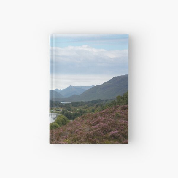 Look West from Loch Affric Hardcover Journal