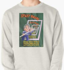 Stayf Draws Art Deco Poster Pullover Sweatshirt