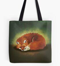 When Foxes Dream Tote Bag